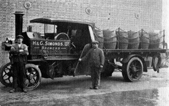 1910's A Foden Steam Dray