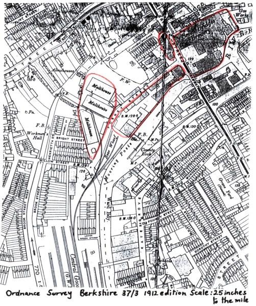 1912 map