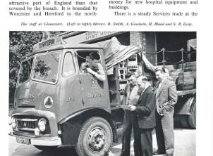 1959 Commer truck Gloucester