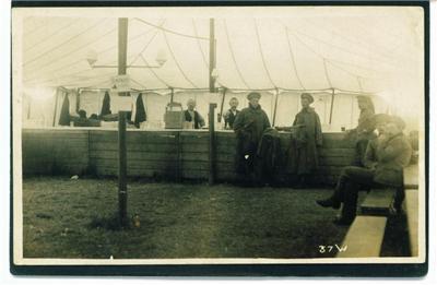Beer tent 1st Devonshire Rgt