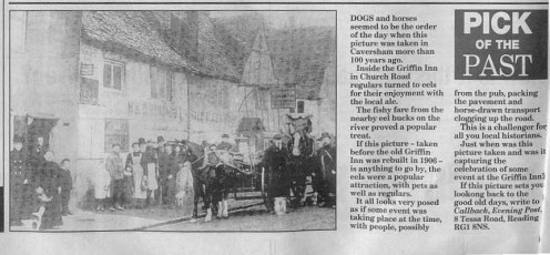 Caversham, The Griffin Dray 1880 article