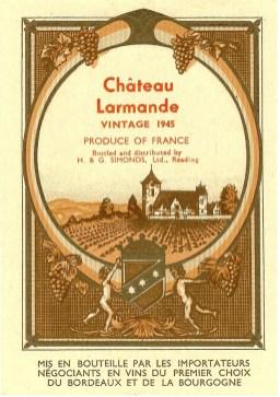 Chateau-Larmande-1945-Simonds