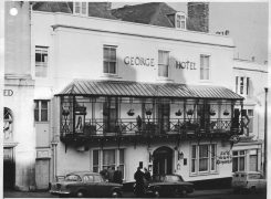 Frome, The George Inn, c1960