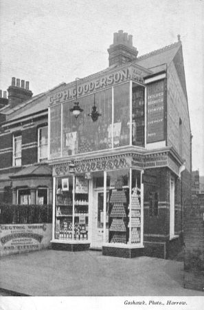 Harrow, George Gooderson off licence