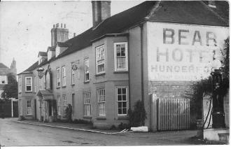 Hungerford, Bear Hotel c1930