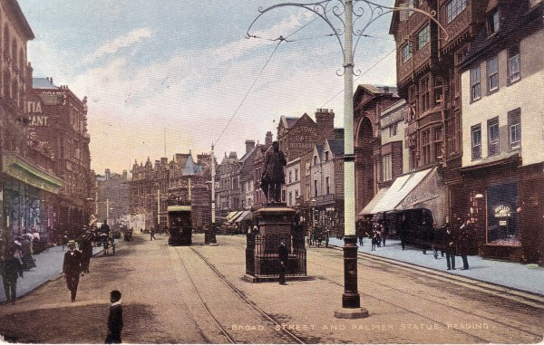 Palmer George St 1906 card