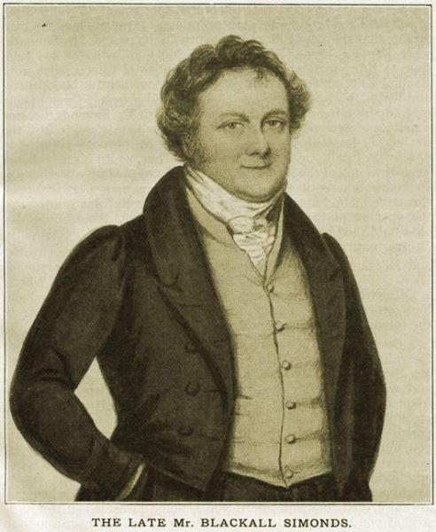Simonds Blackall [1] 1820