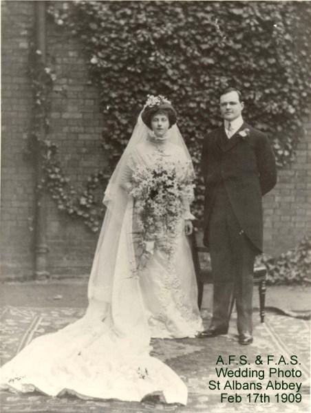 Simonds FA 1909 Wedding