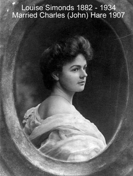 Simonds Louise K [Hare] 1905