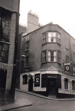 Trenchard Street, still standing but no longer a pub.