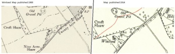 Winloed maps 1900 & 1914