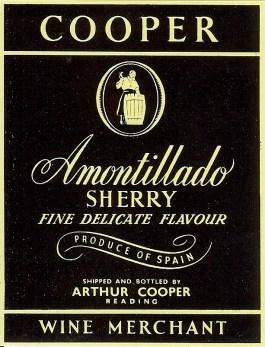 Amontillado Sherry