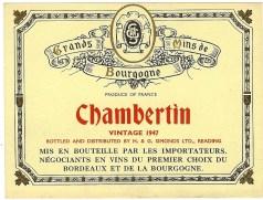 Chambertin 1947