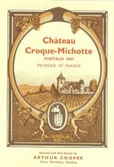 Chateau Croque Michotte 1947