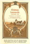 Chateau Lamande 1945