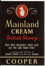 Mainland Cream Sherry