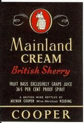 Mainland Cream Sherry