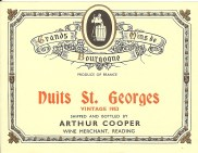 Nuits St Georges 1953