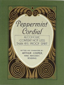 Peppermint Cordial