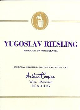 Yugoslav Riesling