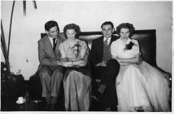 Bottling Dept, John Allaway, Eileen Chaney, Mr&Mrs Slark