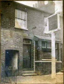 Reading, Kennet St. The Printers Arms c1925. closed 1930