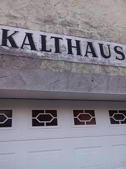 Ein Kalthaus? Was ist das?