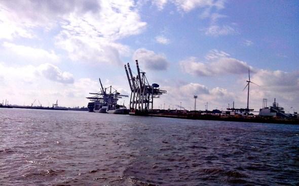 Hamburg – nicht wirklich ländlich, auch wenn Gesa das meint …