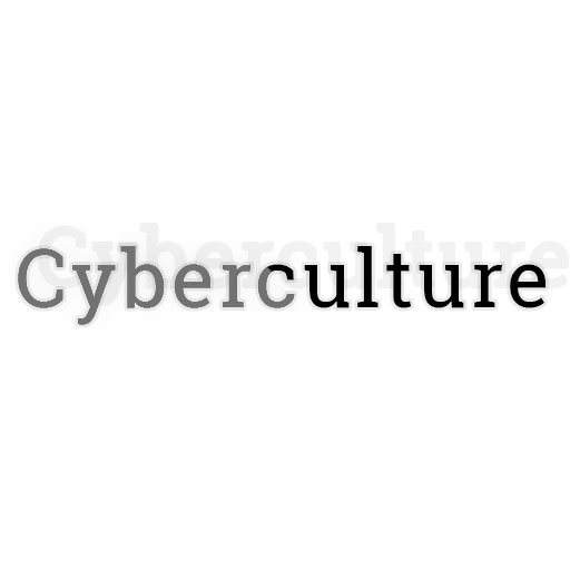A link to the cyberculture section on this website