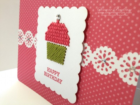 Sweet Threads Simply Sent card kit & Delicate Details Lace Tape