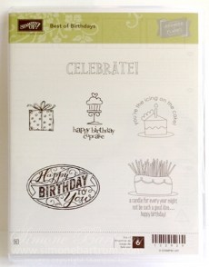 Best of Birthdays Stamp Set