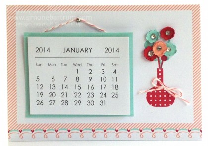 sweet sayings desktop calendar