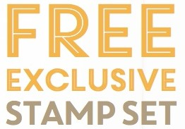 Free exclusive stamp set for AUD$300+ Stampin' Up! orders before October 31