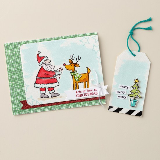 Santa's Gifts (Stampin' Up!) http://bit.ly/1SSHqnw