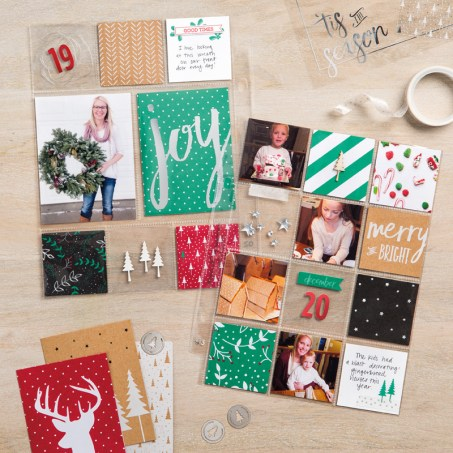Hello December 2016 Project Life. In Australia? Get exclusive access to our Hello December 2016 Facebook group for ideas, inspiration and support. Contact me to order your Hello December 2016 by Stampin' Up! supplies.