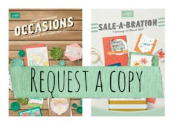 In Australia? Request a copy of the Occasions Catalogue and Sale-a-bration brochure from Simone Bartrum