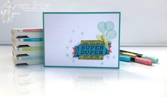 Colour INKspiration #17 Blog Hop - card from www.simonebartrum.com