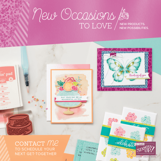 CLICK HERE to view the 2018 Occasions Catalogue