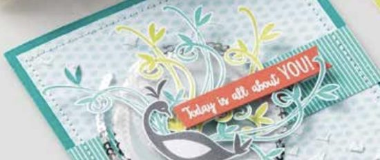 Stampin' Up! Beautiful Peacock (2018 Sale-a-bration stamp set)