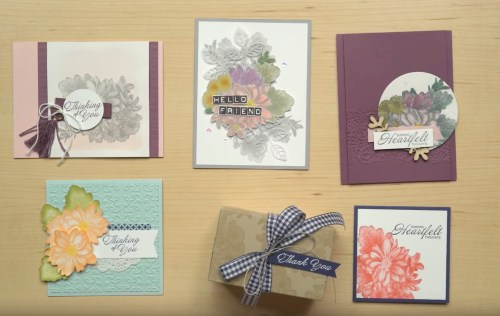 Heartfelt Blooms - Sale-a-bration exclusive stamp set by Stampin' Up!