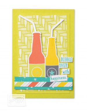 Bubbles & Fizz Designer Series Paper - Sale-a-bration exclusive, by Stampin' Up!