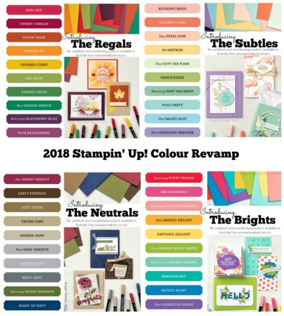 2018 Stampin' Up! colour revamp - www.SimoneBartrum.com