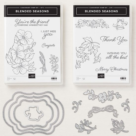 Colour Your Season limited edition products, from Stampin' Up!.