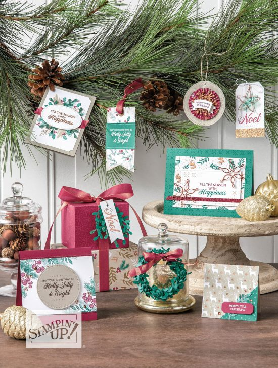 Joyous Noel suite by Stampin' Up!