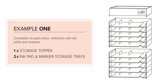 Storage by Stampin' Up! - example one