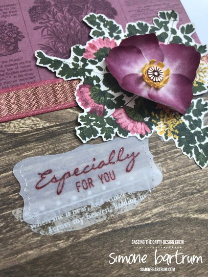 Pressed Petals card by Simone Bartrum