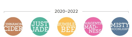 The new 2020-2022 In Colors