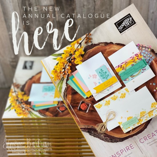 The new 2020-2021 annual Stampin' Up! catalogue is here CLICK to view