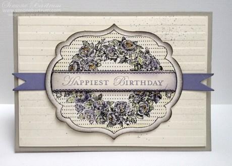 Happiest Birthday - Apothecary Art stamp set