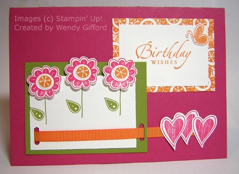 Wendy Gifford's Hello Again Birthday card